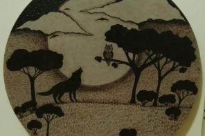 Maja Vuksanović: Risanje z žganjem v les