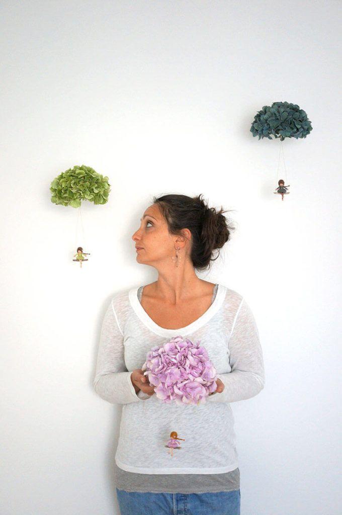 Sanjavčki s pravimi cvetovi hortenzij