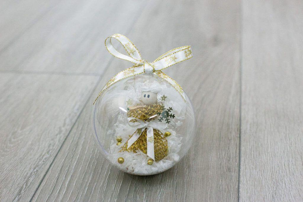 Božične kroglice s sporočili