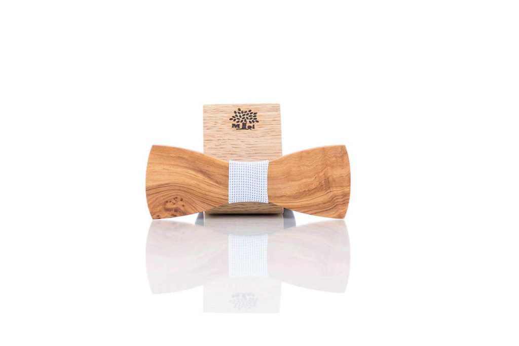 Moi Style:Metuljček ali kravata iz lesa