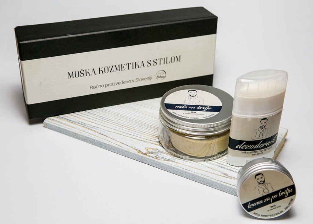HišaNature:Koži prijazni izdelki za moške