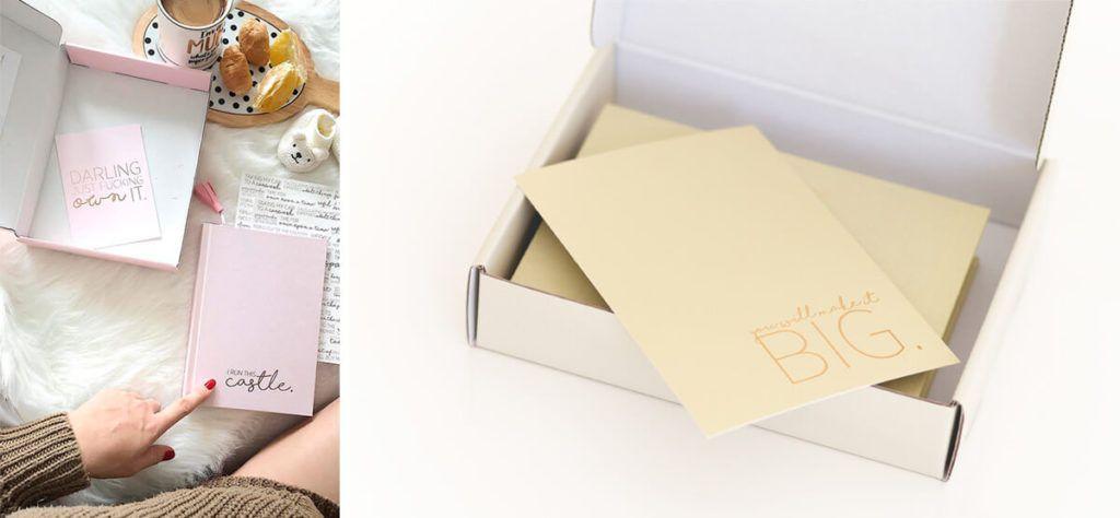 Magic planner v darilni škatlici