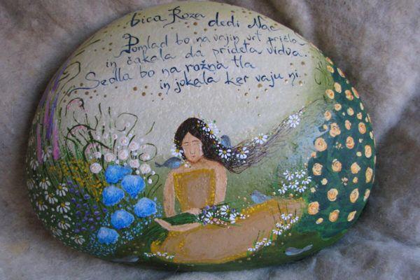 Lucija Drofenik: Najbolj srečna je v miru med barvami