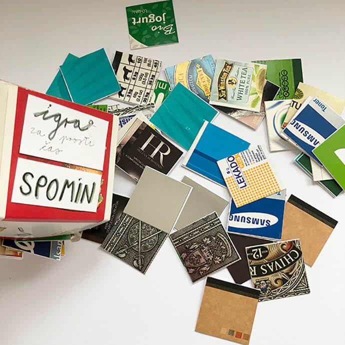DIY: Spomin – igra za prosti čas