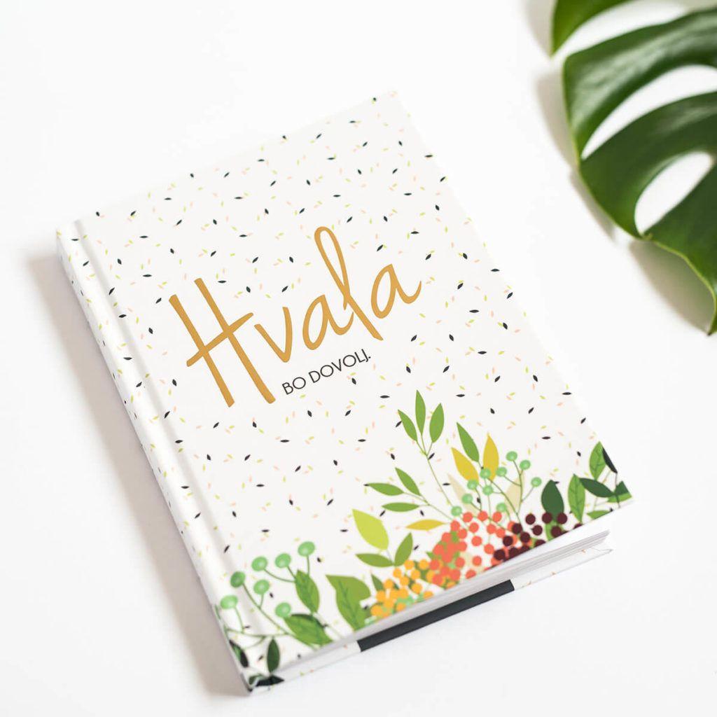 Dnevnik hvaležnosti za gojenje srečnih misli