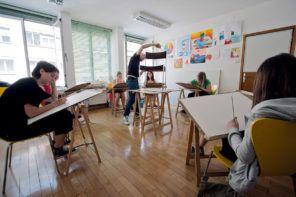 Začetni tečaj risanja je odskočna deska v čudoviti svet risanja