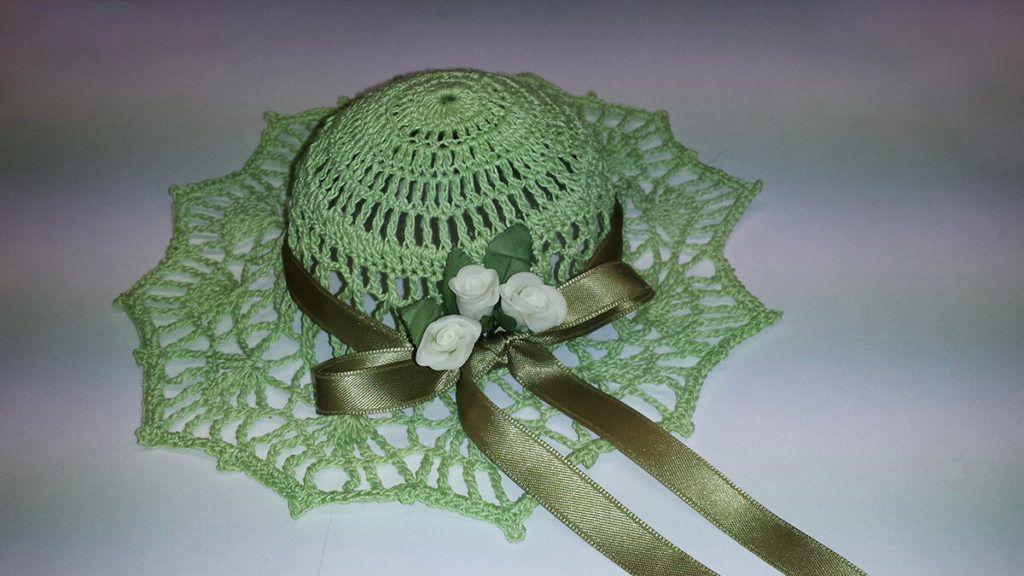 Lilijana Bolčič: Letos navdušujejo kvačkani dekorativni klobučki