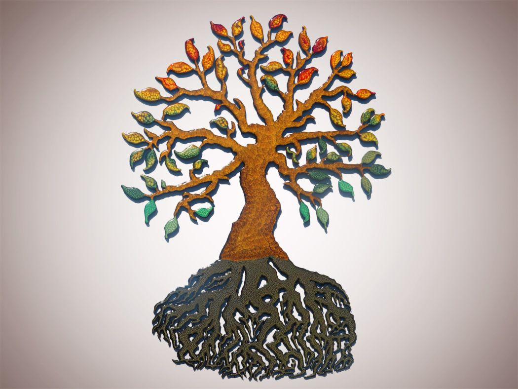 Drevo v jeseni, Andrej Mišič